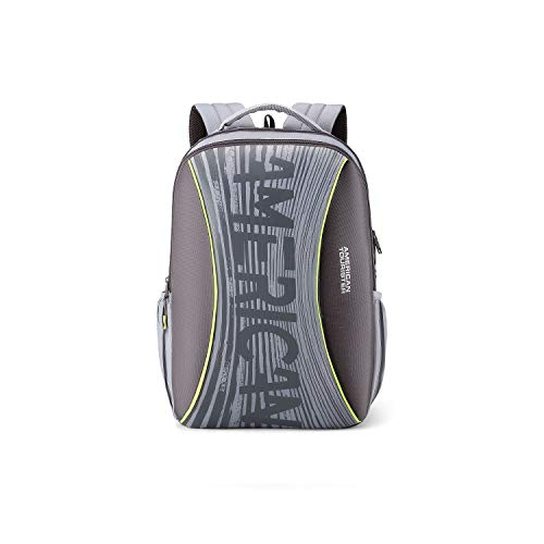 American Tourister Twing 26 Ltrs Grey Casual Backpack (FD0 (0) 08 002)