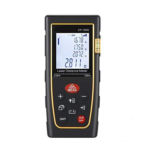 QWERTOUY afstandsmeter 40 m 60 m 80 m 100 m 120 m 150 m afstandmeter meetlint meetlint meetlint digitale meetlint