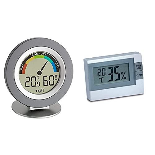 TFA 30.5019.01 Cosy Digitales Thermo Hygrometer & Digitales Thermo-Hygrometer, 30.5005, zur Raumklimakontrolle