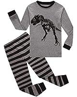 Family Feeling Big Boys Dinosaur Pajamas 100% Cotton Pjs Kid Sleepwear 8