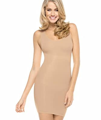 MAIDENFORM FLEXEES Firm Control Shaping Full Slip (X-Large, Latte Lift) by