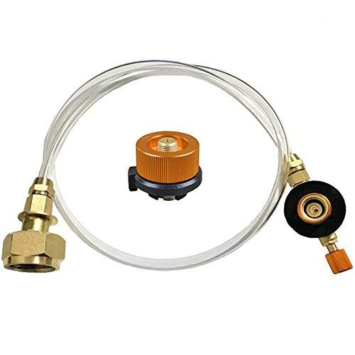housesweet - Adaptador de Manguera de Repuesto para convertidor de tubería de propano