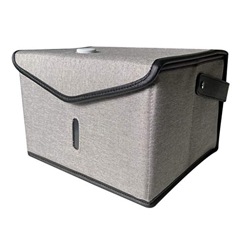 F Fityle Caja de Desinfectante UV, Bolsas de Esterilización Recargables USB Portátiles para Biberones, Ropa Interior, Cepillo de, Herramientas de Belle - gris