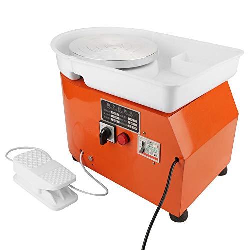 Máquina de Ruedas de Cerámica 350W 0-300r/min Herramienta de Conformación de Cerámica con Lavabo Ruido Bajo AC110V~220V