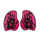 arena Vortex Evolution Hand Paddle Équipement d'entraînement Mixte Adulte, Rose/Noir, Grand