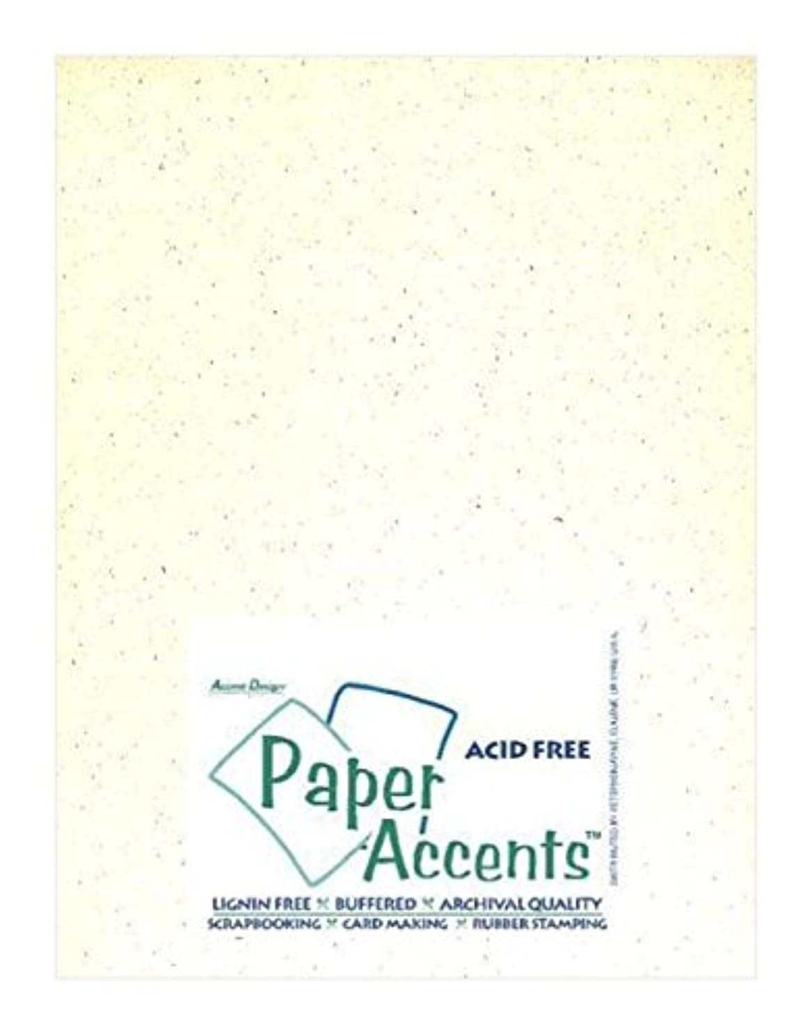 Accent Design Paper Accents ADPaperRecycled8.5x11Birch Cdstk Recycled 8.5x11 80# Birch