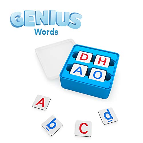 Osmo - Genius Words - Ages 6-10 - Interactive Letter Recognition, Phonics, Sight Words & Spelling - For iPad or Fire Tablet (Osmo Base Required - Amazon Exclusive)