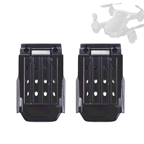 2STK - Batería de repuesto para cuadricóptero teledirigido (3,7 V, 220 mAh, compatible con E61 E61HW)