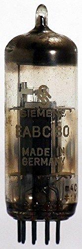 Radioröhre EABC80 (6AK8 / 6g3p / DH719 / 6LD12) Siemens ID258