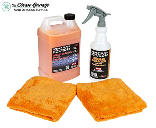 The Clean Garage P&S Bead Maker Spray Sealant Gallon Kit with 32oz Bottle, Trigger and 2 Ultimate Towels from