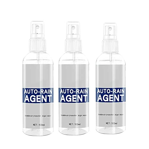 WYBF 3pcs Car Glass Waterproof Coating Agent,Glass Cleaner Multifunctional Anti Fog Spray Ceramic Coating for Cars for Windows,Windshields,Mirrors,Glass, Shower Doors