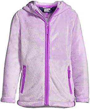 Lands' End Girls Softest Fleece Jacket