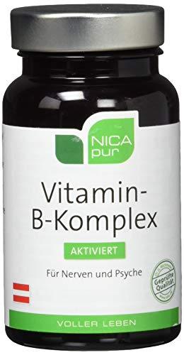 NICAPUR Vitamin B-Komplex aktiviert Kapseln 60 St Kapseln