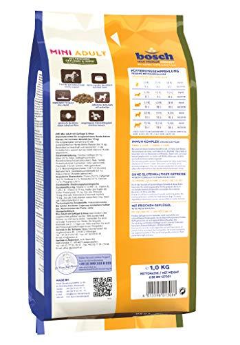 bosch Hundefutter Mini Adult Geflügel und Hirse, 1er Pack (1 x 3 kg) - 2