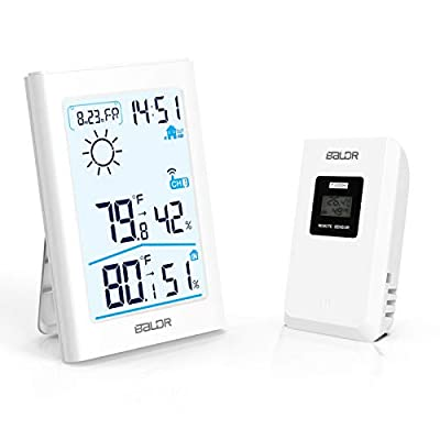 Slopehill Weather Station, Wireless Indoor Outd...