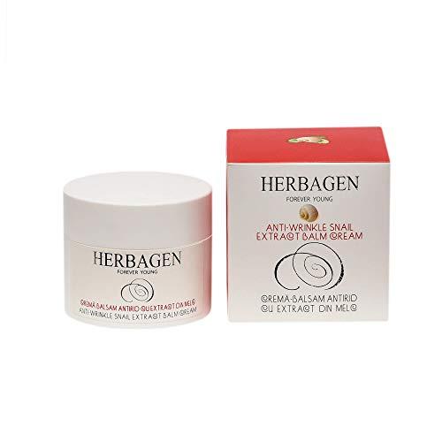 Herbagen Crema regeneradora para piel seca a muy seca – baba de caracol – 95% origen natural