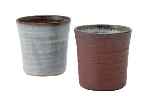Shigaraki Yaki Raku 8.5cm Tazze da sake Ceramic Japón Original