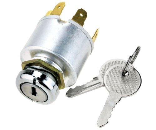 Kit de cilindro de arranque con llave universal, 12V, para coche, moto, barco