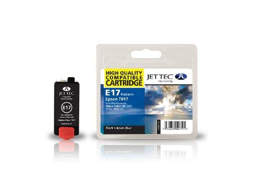 Jettec E17 Tintenpatrone - ersetzt Epson T017 schwarz 20 ml