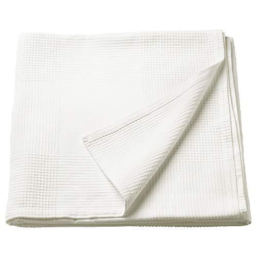 MBI Tagesdecke weiß Größe aufgebaut 250 cm lang 230 cm breit