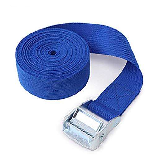 Moter2 Meter lang und breit 38mm Nylon schwere Gürtelschnalle Nylonband Band Handwerk DIY Packband,Blau