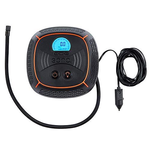 EONO Essentials Pompa digitale preimpostata per pneumatici, con luce