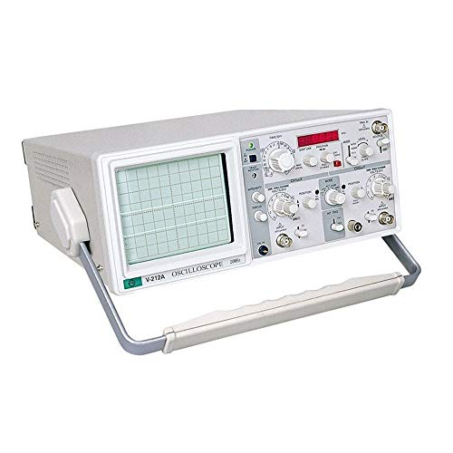 Affordable Precise Dual-track Analog Oscilloscope With Six-digit Frequency Meter V-212A durable (Siz...