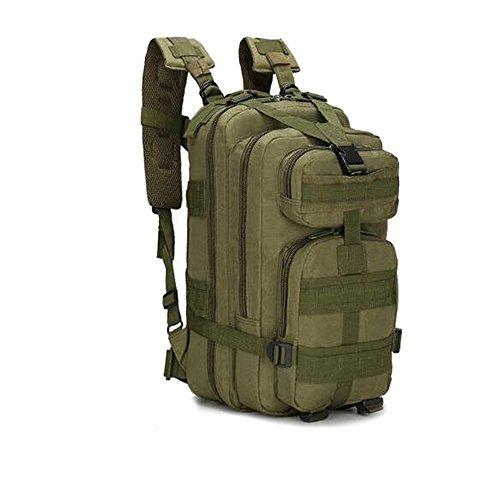 Macutos de senderismo Mochila de trekking  militar 25L MOLLE Paquete de asalto de combate