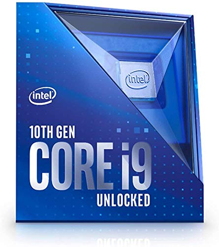 Intel BX8070110900K Core i9-10900K (fase base: 3,70GHz; attacco: LGA1200; 125 Watt) Box
