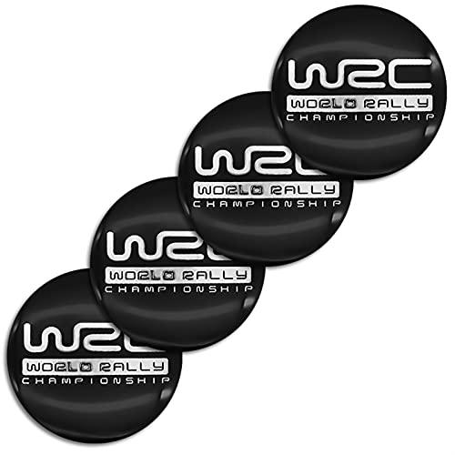 Accesorios de coche Tapa central de rueda Decorar 56 mm TURE CENTER COVER CUBIERTA DE HUB WRC LOGO ETIQUETA DE ALUMINIO ACCESORIOS DE COCHE PARA FORD- FOCUS 2 PEUGEOT-SKODA-TOYOTA-VW-HYUNDAI-SUBARU- D