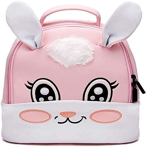 Mochila para niños pequeños Dibujos Animados Animal Preescolar niños jardín de Infantes Mochila Escolar niño niño (Conejo)
