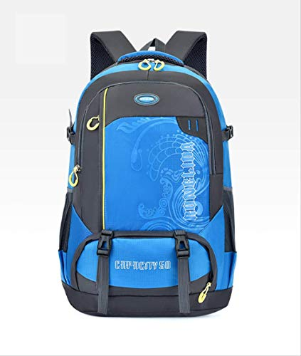50L Zononi Neutral Men Sport Outdoor Hiking Nylon Bag Backpack Camping Climbing Men