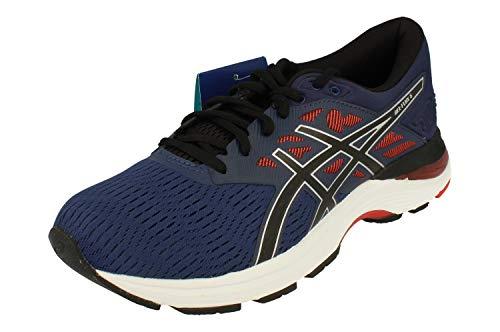 ASICS Gel-Flux 5 Mens Running Trainers T811N Sneakers Shoes (UK 7 US 8 EU 41.5, deep Ocean Black 400)