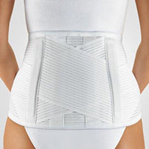 Bort VarioBasic Rückenbandage weiß Gr. L, Hüft- und Rumpfbandagen, Bruchbandagen