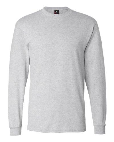 Camiseta de manga larga para hombre, de Hanes Beefy-T