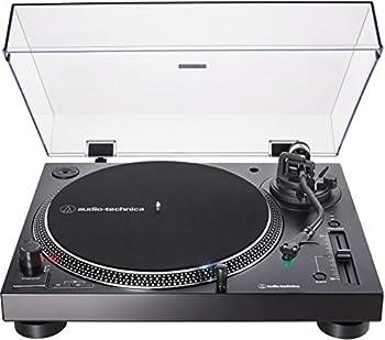 Audio-Technica AT-LP120XUSB-BK Direct-Drive Turntable  Analog & USB  Fully Manual Hi-Fi 3 Speed Convert Vinyl to Digital Anti-Skate and Variable Pitch Control Black