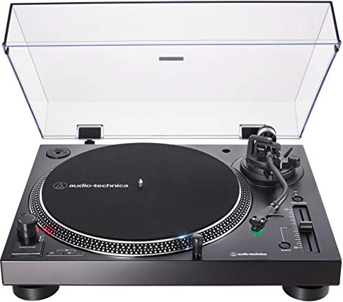 Audio-Technica AT-LP120XUSB-BK Direct-Drive Turntable (Analog & USB), Fully Manual, Hi-Fi, 3…