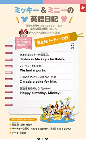 学研プラス『ミッキー!これ英語でなんていうの?和英じてん第2版』