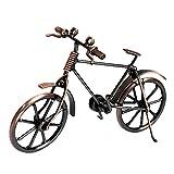 Fahrrad Miniatur Fahrrad Vintage Eisen Kunst Fahrrad Metall,Eisen Kunst Fahrrad Modell,Skulptur Retro Classic Handmade Eisen Fahrrad Metall Art Dekoration Ornamente kleines Geschenk für Home Office