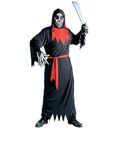 B-Creative Disfraz de fantasma malvado para hombre de Halloween para la muerte de la muerte de la muerte de Halloween