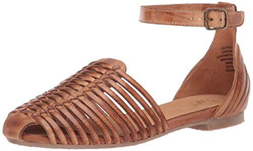 Seychelles Women's Bits 'N Pieces Flat Sandal, cognac, 6 M US