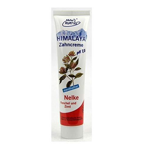 6x Natur Hurtig Himalaya Zahncreme Nelke Fenchel Zimt 75 ml