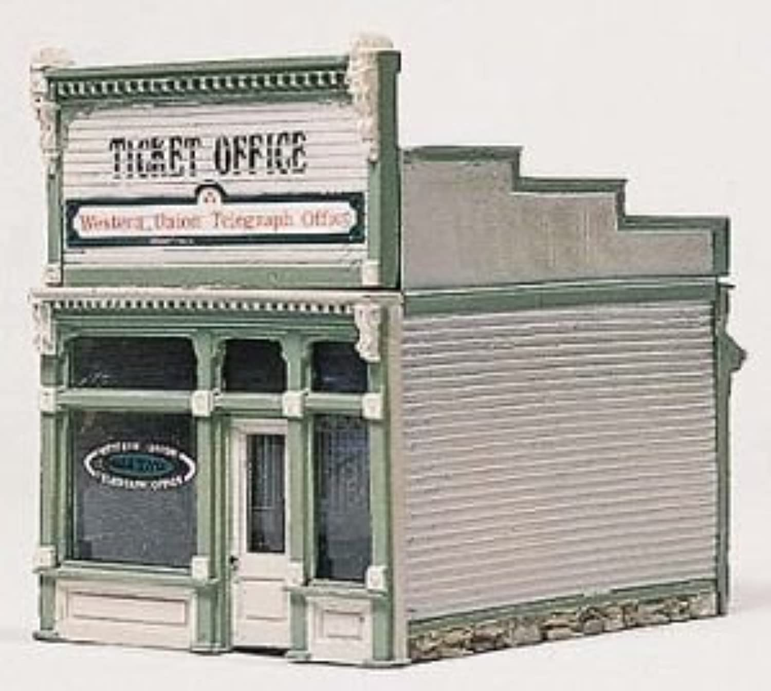 Woodland Scenics HO Scale Scenic Details Ticket Office by Woodland Scenics
