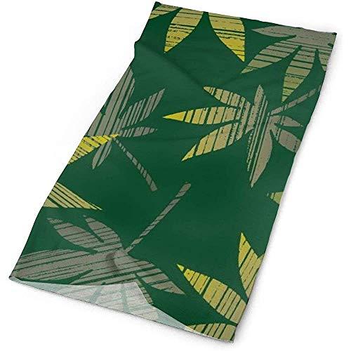 12-in-1 Bandana, weed plants wallpaper sjaal hoofdband, fashion head wrap voor wandelen, jagen, motorrijden