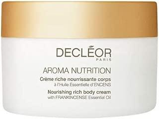 Decleor Aroma Nutrition Nourishing Rich Body Cream, 6.9 Fluid Ounce
