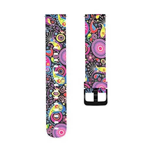 NICERIO Compatible para Amazfit Bip Youth Watchband - Pulsera de Silicona Correa de Reloj de Múltiples Patrones Correa de Reloj de Repuesto Correa de Reloj Inteligente