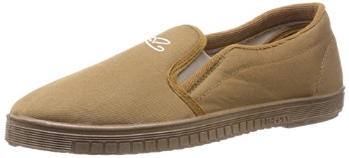 Gliders (From Liberty) Men's Jogging-E Beige Canvas Boat Shoes - 6 UK