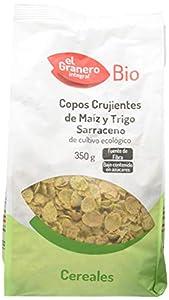 Granero Copos Crujientes de Maíz Y Trigo Sarraceno Bio 350 Envase de 350 Gramos