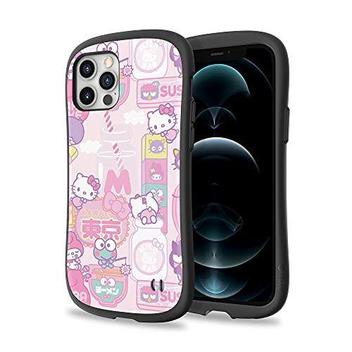 iFace x Sanrio First Class Design für iPhone 12/12 Pro – niedliche, stoßfeste Doppelschicht [Hartschale + Bumper] Hülle [Fallgetestet] – Hello Kitty & Fre&e (Tokyo)