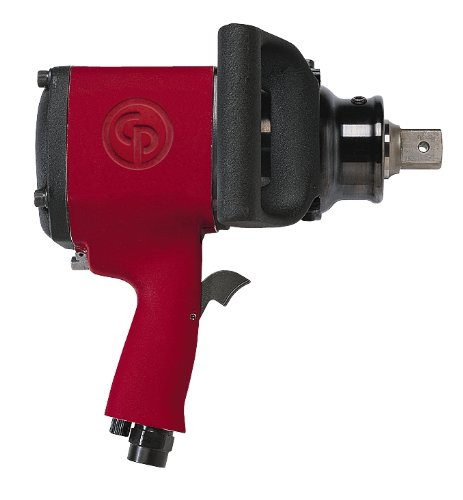 Chicago Pneumatic CP796 Super Duty Air Impact Wrench with Adjustable Side Handle, 1-Inch Drive, 900 BPM